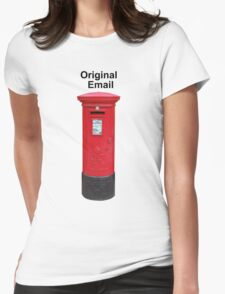 Postbox Original Email Womens Fitted T-Shirt