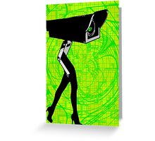 Look at ME! Funny Modern Art Prints T-Shirt Stickers Cases Greeting Card