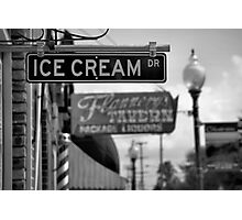 Small Town Ambience Photographic Print
