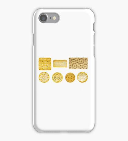 Savoury Biscuits and Crackers iPhone Case/Skin
