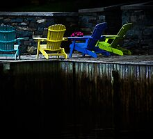 The Adirondack Chairs by Charles Plant