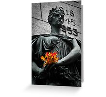 Lady of Rememberance Greeting Card