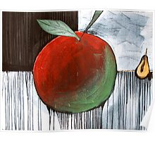 APPLE AND PEAR Poster