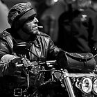 Biker Dude by David Friederich
