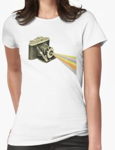 It's a Colourful World Womens Fitted T-Shirt