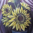 Sunflowers by Xtianna