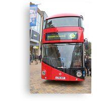 New London bus Prototype Canvas Print
