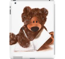 Sketching Teddy Bear iPad Case/Skin