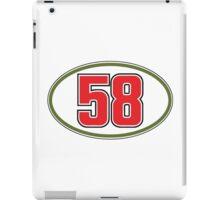 Simoncelli 58 iPad Case/Skin