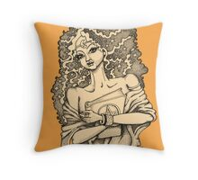 High Priestess Throw Pillow