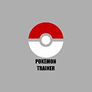 big screaming nerd pokeball pokemon logo red and black - pokemon trainer by hellohappy