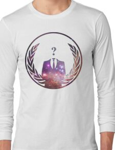 Cosmic Anonymous Long Sleeve T-Shirt