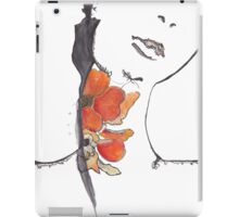 Seductive Nature of a Flower iPad Case/Skin