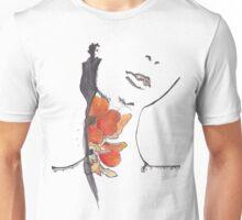 Seductive Nature of a Flower Unisex T-Shirt