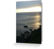 Sunset Cape Schanck Greeting Card