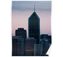 Perth Skyline (WA) Poster