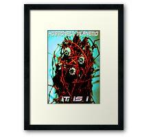 Videogame Monster Framed Print