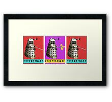 Affectionate Dalek Framed Print