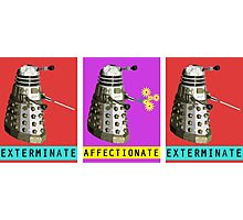 Affectionate Dalek Photographic Print