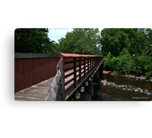 A Bucks County Bridge Canvas Print