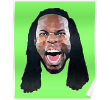 Richard Sherman Lowpoly Poster
