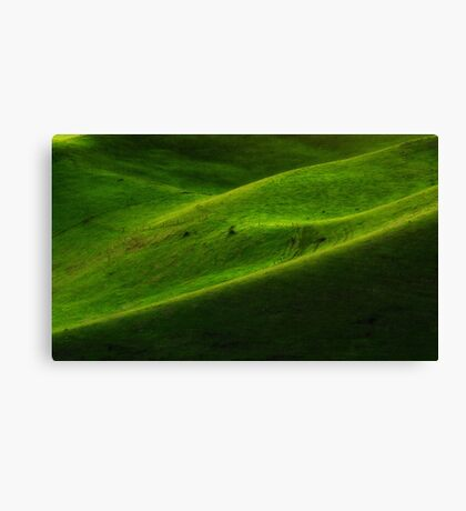 """""""Green Hills"""" Canvas Print"""