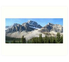 Icefields Parkway - Canada: September 2008 Art Print