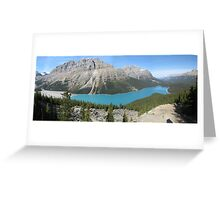 Icefields Parkway - Canada: September 2008 Greeting Card