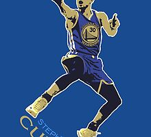 Stephen Curry - Golden State Warriors by Sithuralom