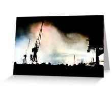 Destination: Docklands Greeting Card