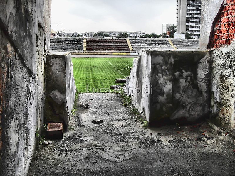 Lviv stadium by Luca Renoldi