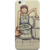 Mother vomiting iPhone Case/Skin