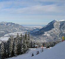 View from Kreutzwankl, Garmisch-Partenkirchen, Germany by scottmac99