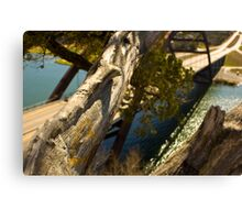 The Love Tree over 360 bridge Canvas Print