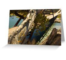 The Love Tree over 360 bridge Greeting Card