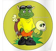funny monster Poster