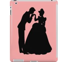 Cinderella and Prince Charming Silhouette iPad Case/Skin