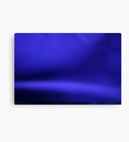 Blue Abstract #1 Canvas Print