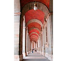 Archways in Madrid Photographic Print