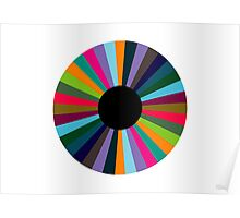 Exploding Eye (abstract graphic art) Poster