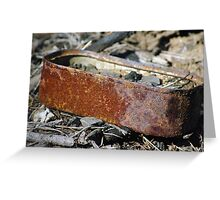 rusty sardines Greeting Card