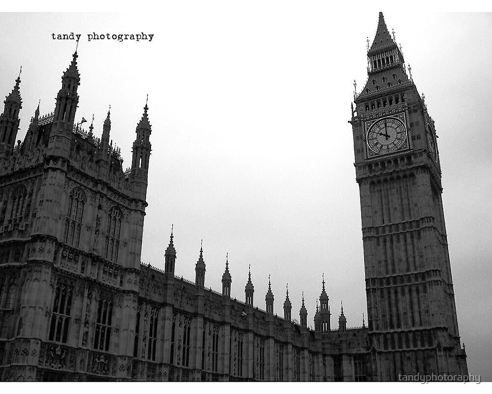 Big Ben and The Parliament in London by tandyphotoraphy