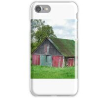 Typical Virginian Barn iPhone Case/Skin