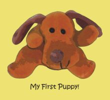 """""""My First Puppy!"""" T-Shirt or Pyjamas by Bloomin' Arty"""