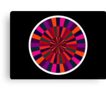 Exploding Plastic Rainbow #5 (abstract graphic art) Canvas Print