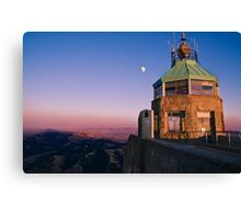 Mt. Diablo Lookout Tower at Twilight Canvas Print