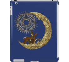 Moon Travel (Blue) iPad Case/Skin