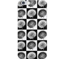 Dandelion Pop in Black and White iPhone Case/Skin