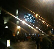 Everton Football Club, Goodison Park by Sarah Louise English