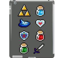 Zelda Items V.2 iPad Case/Skin